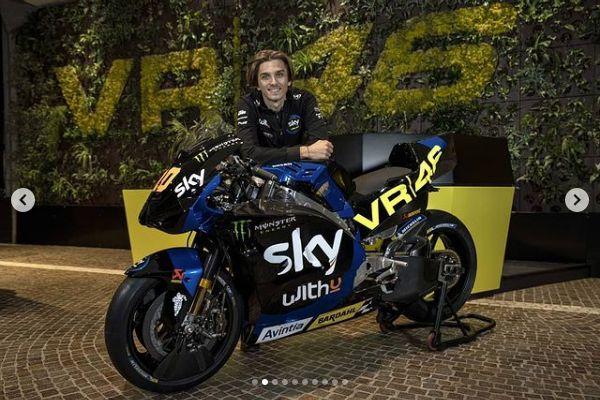 Tim balap MotoGP Valentino Rossi resmi diperkenalkan.
