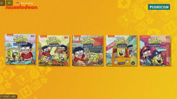 Jumpa Pers Komik Si Juki x SpongeBob SquarePants