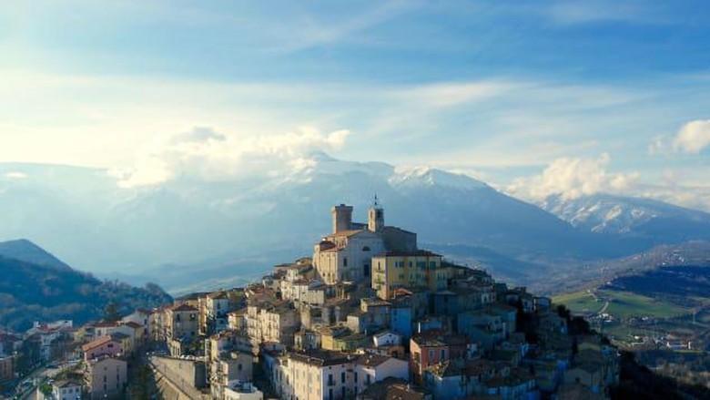 kota kecil paling cantik di Italia