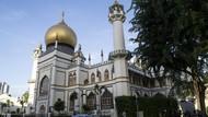 Begini Megahnya Masjid Sultan di Singapura