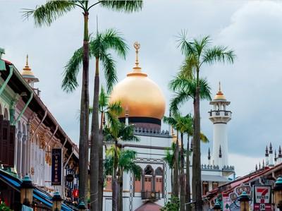 Mengintip Masjid Sultan, Masjid Termegah di Singapura
