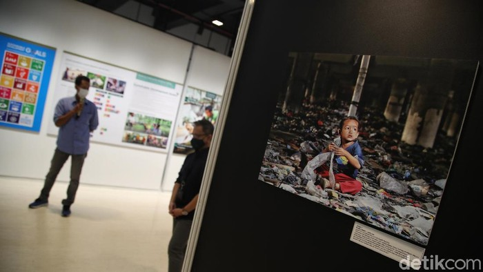 Pameran foto bertema stunting digelar Tanoto Foundation dan PFI (Pewarta Foto Indonesia) Jakarta ini menceritakan tentang kepedulian pencegahan stunting.