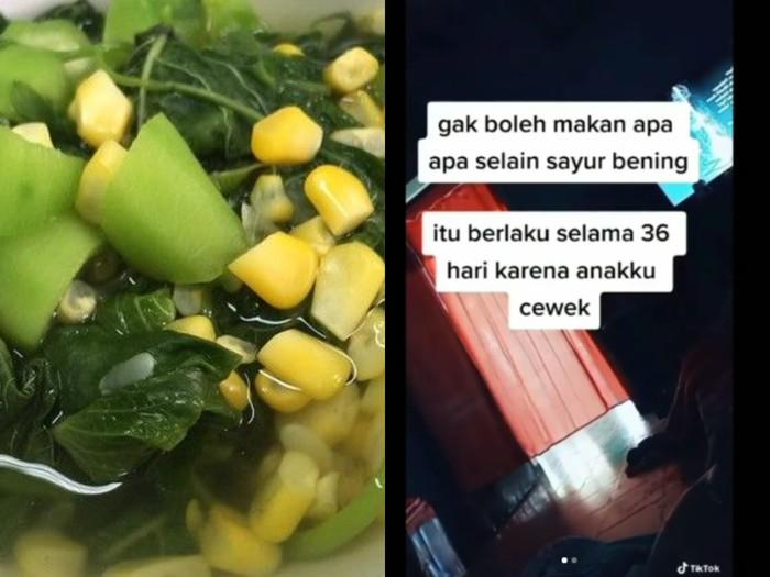 Nyesek! Curhatan Menantu Hanya Diijinkan Makan Sayur Bening oleh Mertua