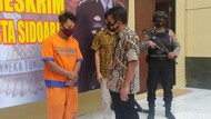 Polisi Sidoarjo Amankan Pria Beristri yang Onani di Pinggir Jalan