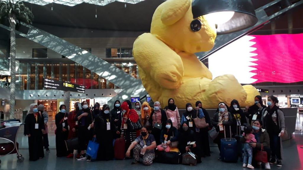 Ada Program Amnesti, KBRI Muscat Pulangkan 54 Pekerja Migran Indonesia