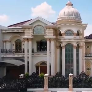 Rumah Megah Crazy Rich Karawang Haidar Azis, Lantai Lapis Marmer Rp 6 Miliar