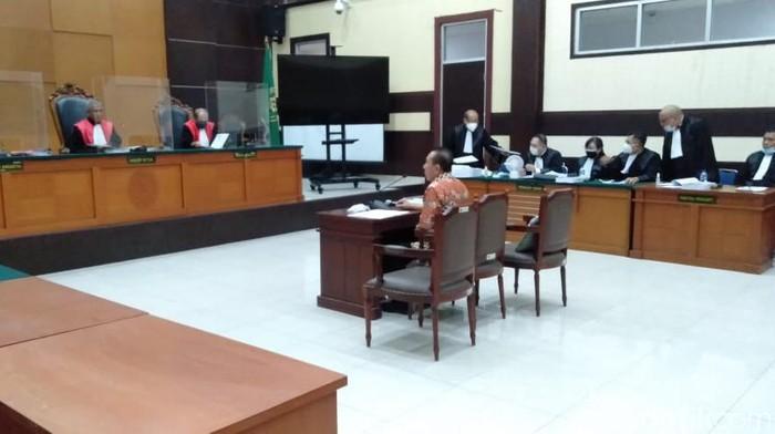 Sidang Pleidoi Kasus Surat Jalan Palsu Djoko Tjandra