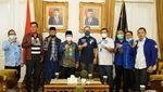 Silaturahmi Eddy Soeparno bersama Bupati Cianjur Terpilih