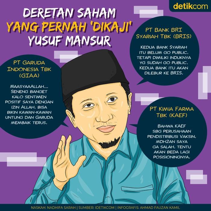 Yusuf Mansur Bicara Saham
