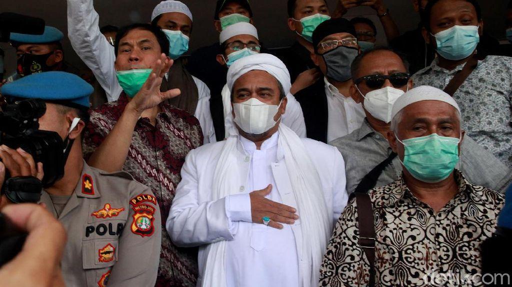 Kuasa Hukum Ungkap Kondisi Habib Rizieq di Tahanan: Sering Sesak Napas