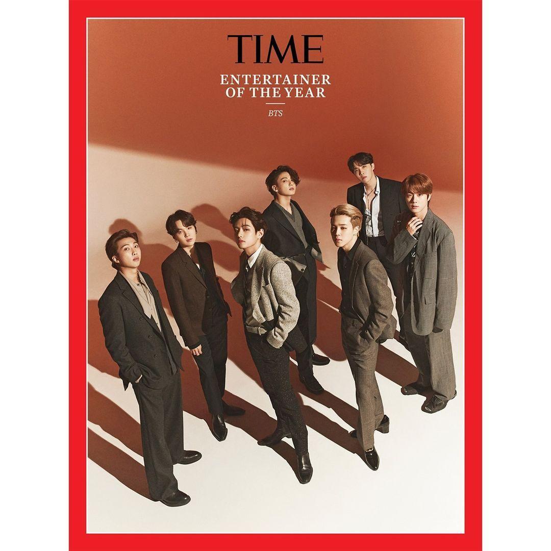 Busana BTS di sampul majalah TIME dikritik.