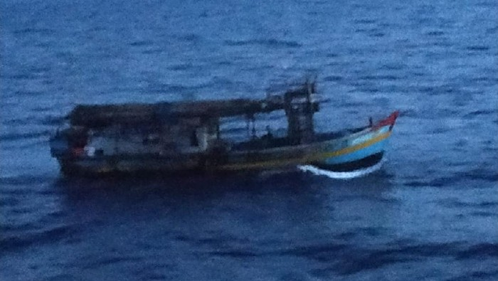 Kapal Ikan Asing Vietnam tankap ikan ilegal