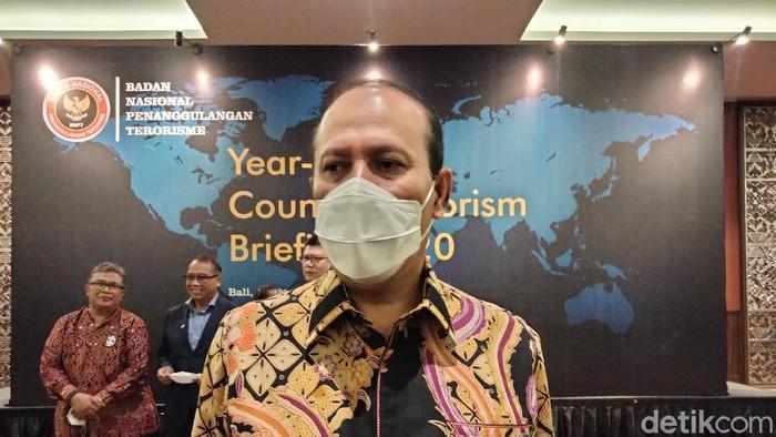 Kepala Badan Nasional Penanggulangan Teroris (BNPT) Komjen Boy Rafli Amar (Angga Riza/detikcom)