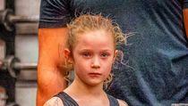 Potret Gadis 7 Tahun Terkuat di Dunia, Bisa Angkat Beban 80 Kg