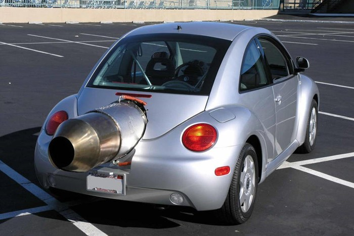 VW Kodok bermesin jet