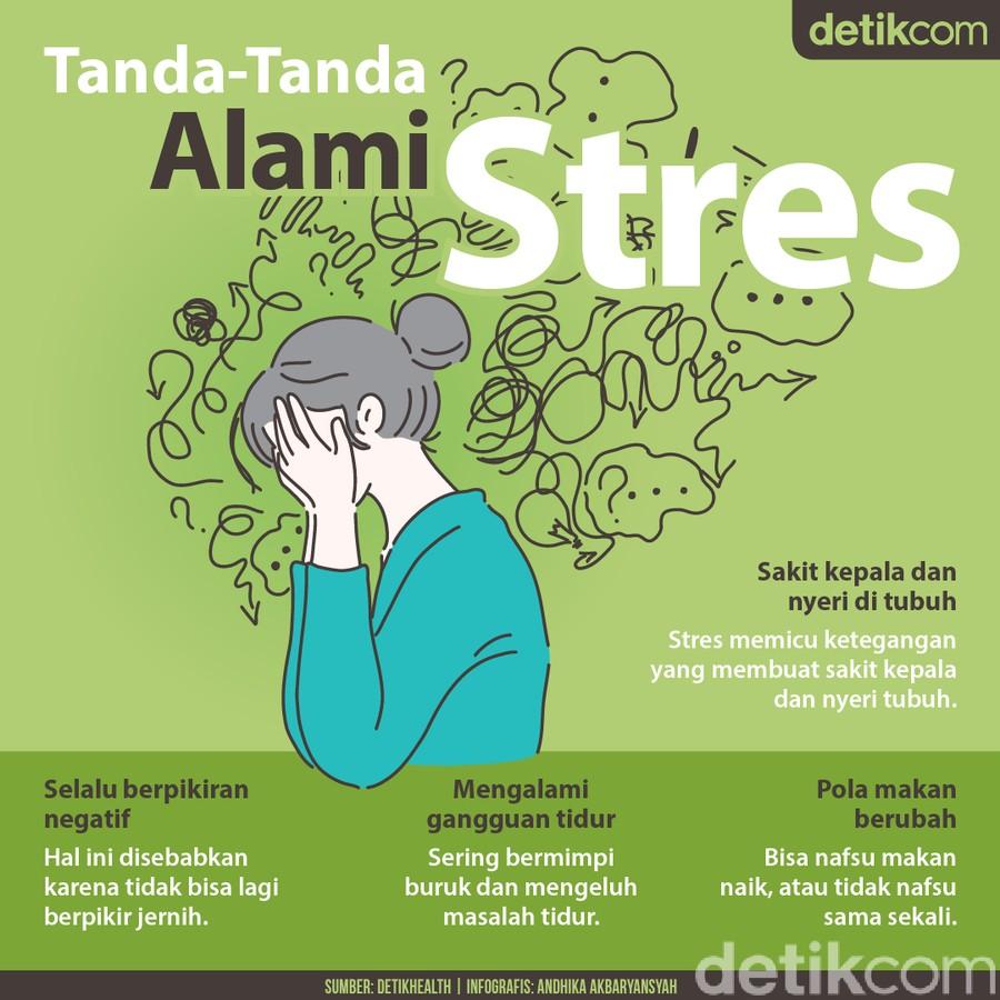 4 Gejala Ini Menandakan Stres yang Tidak Disadari