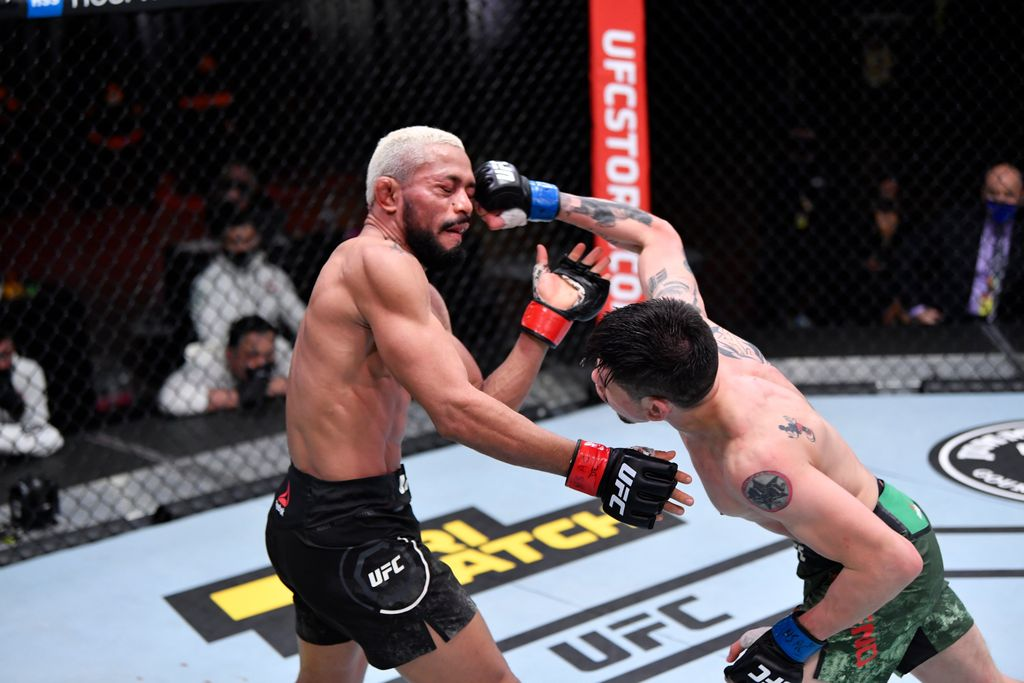 Figueiredo vs Moreno di UFC 256