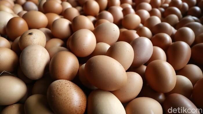 Menjelang hari Natal dan Tahun Baru, harga telur ayam di pasar tradisional merangkak naik.  Harga telur ayam kini bertengger di Rp 28.000/kilogram.