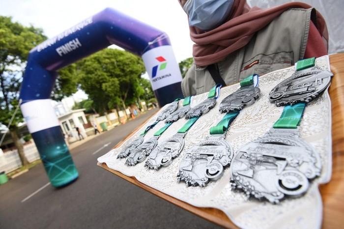 Sebanyak 3.000 pelari dari seluruh Indonesia mengikuti ajang Live Run dalam acara lari tahunan Pertamina Eco Run 2020.
