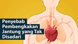 Pembengkakan jantung merupakan salah satu kondisi yang mengganggu kerja jantung dalam memompa darah ke seluruh tubuh. Ada beberapa hal yang bisa jadi penyebab.