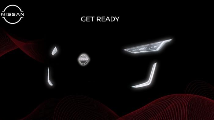 Teaser mobil SUV baru Nissan
