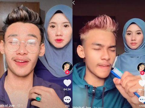 Kisah Muhammad Haikal Danial Mohd Edie yang dikira kakak beradik dan juga pacar ketika membuat video bersama sang ibunda