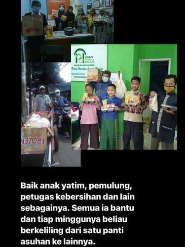 Kisah Andriyan Bima alias Pak Aan yang bersedekah dan menyalurkan bantuan setiap Jumat