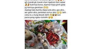 Viral! Netizen Curhat Uang Belanja Rp 20 Ribu Per Hari Tidak Cukup