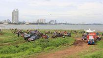 IMI dan IOF Gelar Event Offroad di Pesisir Jakarta