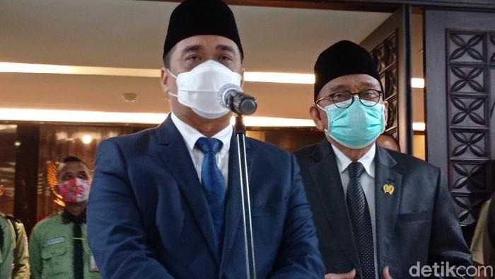 Wagub DKI Ahmad Riza Patria (Wilda/detikcom)