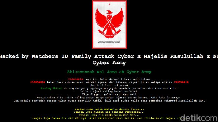 10 Website Pemda Dihacked Anti Habib Rizieq