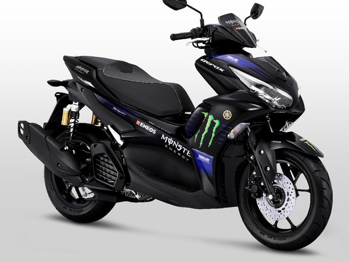 All New Aerox 155 Connected versi livery MotoGP