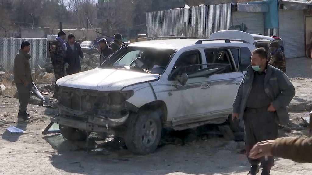 Ledakan Bom Rakitan di Kabul, Empat Orang Tewas