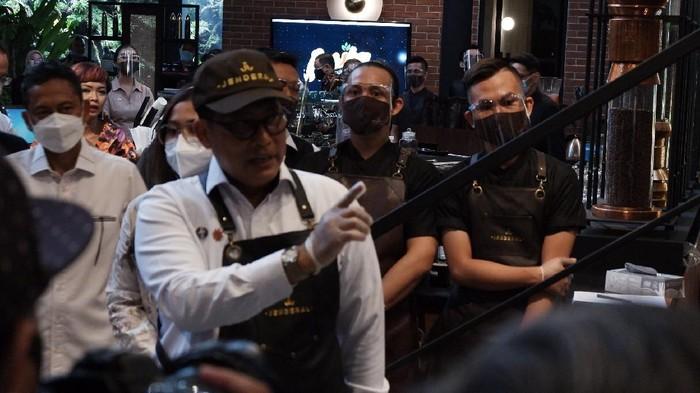 Dirut Perum Bulog Budi Waseso alias Buwas kenalkan Kopi Jenderal jilid II