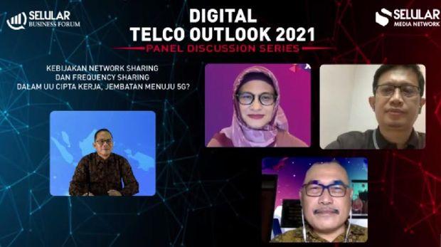 Diskusi Online Seluler Outlook 2021.