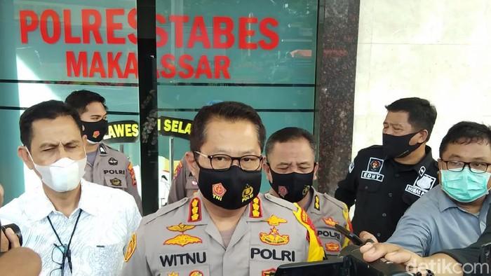 Kapolrestabes Makassar Kombes Witnu Urip Laksana (Hermawan-detikcom).