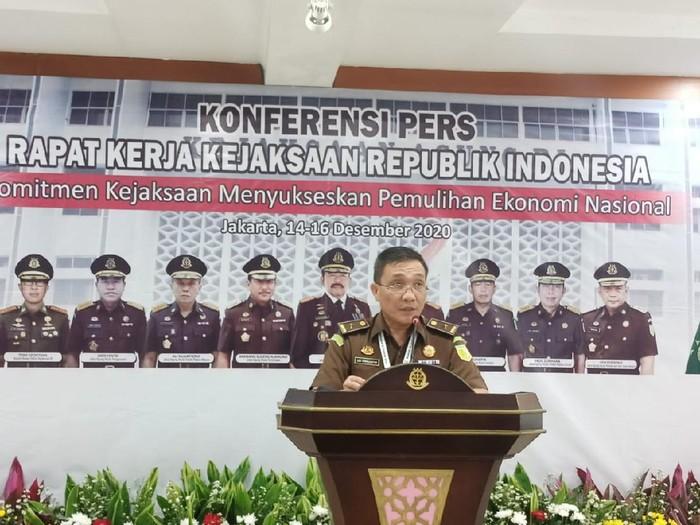 Kepala Pusat Penerangan Hukum (Kapuspenkum) Kejagung, Leonard Eben Ezer Simanjuntak