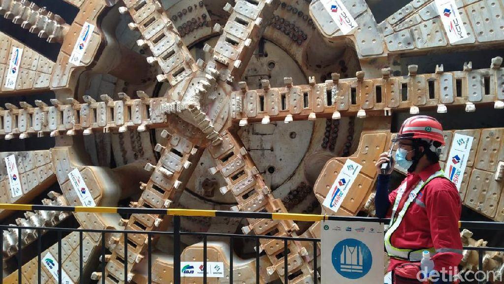 Foto: Terowongan Bawah Tanah Kereta Cepat JKT-BDG