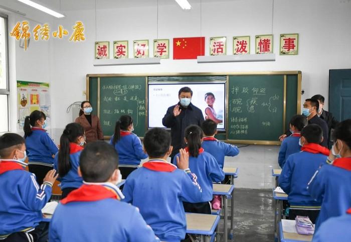 Presiden Tiongkok Xi Jinping Inspeksi Kondisi Kemiskinan