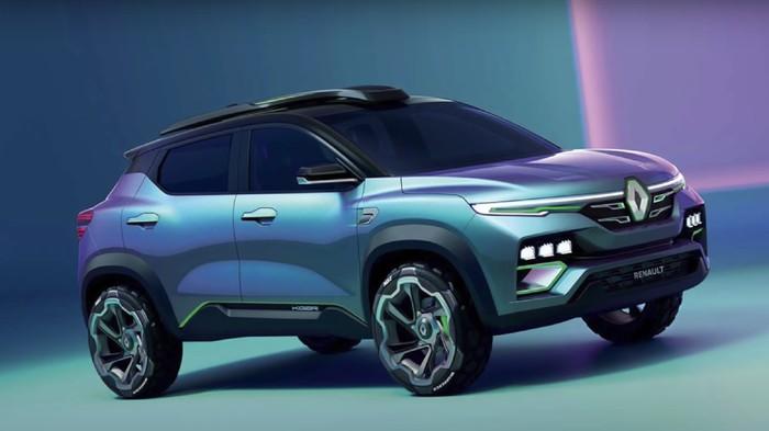 Renault Kiger Showcar, konsep mobil SUV yang akan dijual ke Indonesia tahun 2021