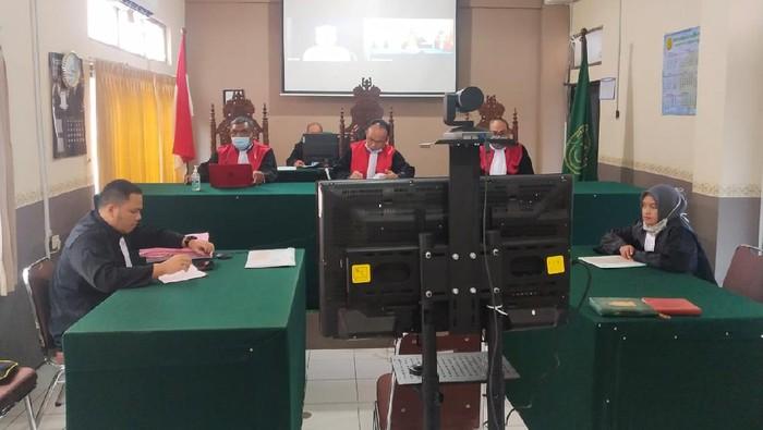 Sidang digelar secara virtual di PN Subang Jawa Barat
