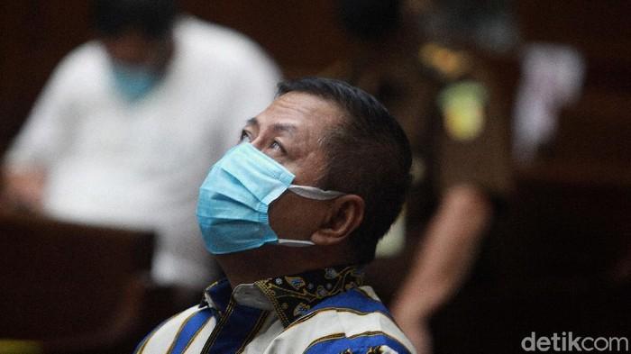 Perantara suap Djoko Tjandra ke Irjen Pol Napoleon, Tommy Sumardi mengikuti sidang tuntutan di Pengadilan Tipikor, Jakarta, Selasa (15/12/2020).