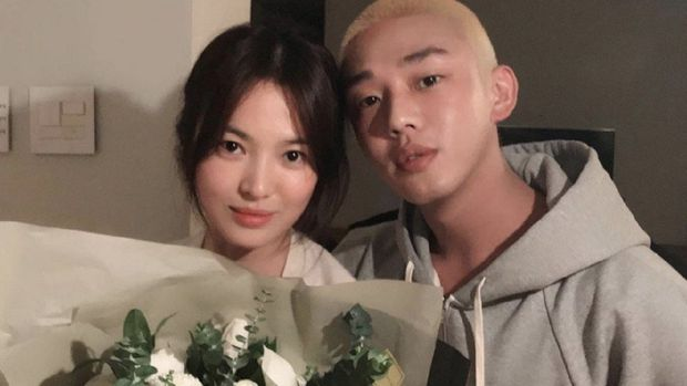 Song Hye Kyo and Yoo Ah In