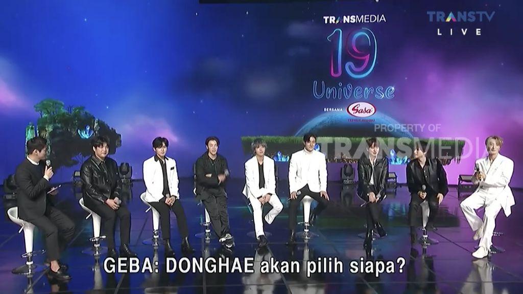 Keseruan HUT Transmedia Bareng Super Junior