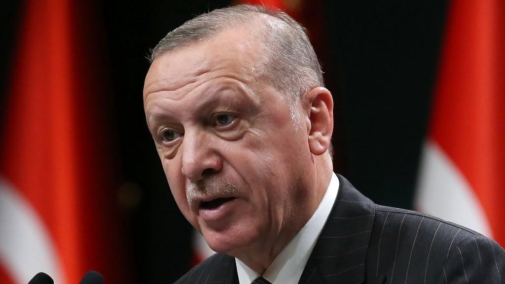 Tekad Erdogan Hentikan Teror Israel
