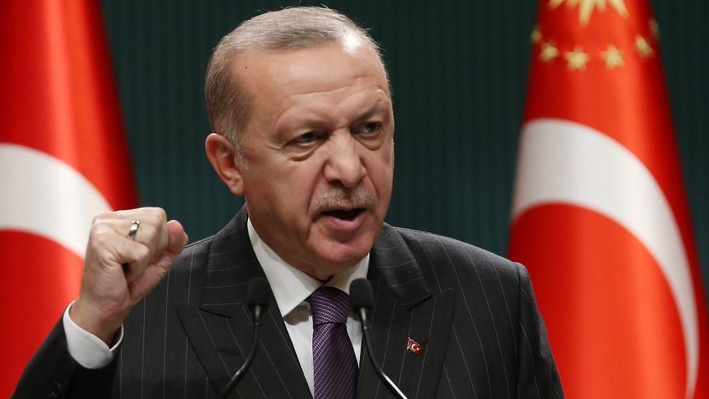 Kala Turki Gerah Erdogan Dicap Diktator oleh PM Italia