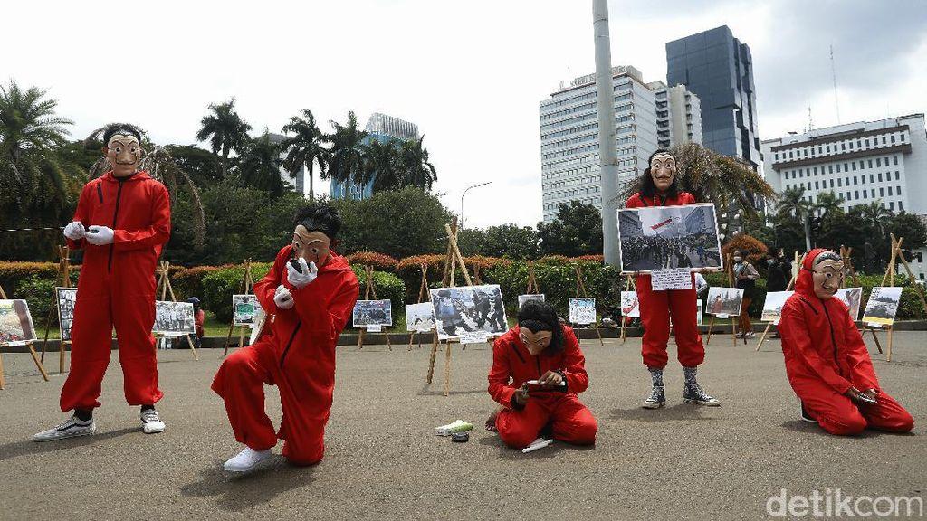 Warga Serukan #BersihkanIndonesia Lewat Teatrikal