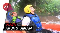 Celebrity on Vacation: Cobain Rafting di Ciater Subang