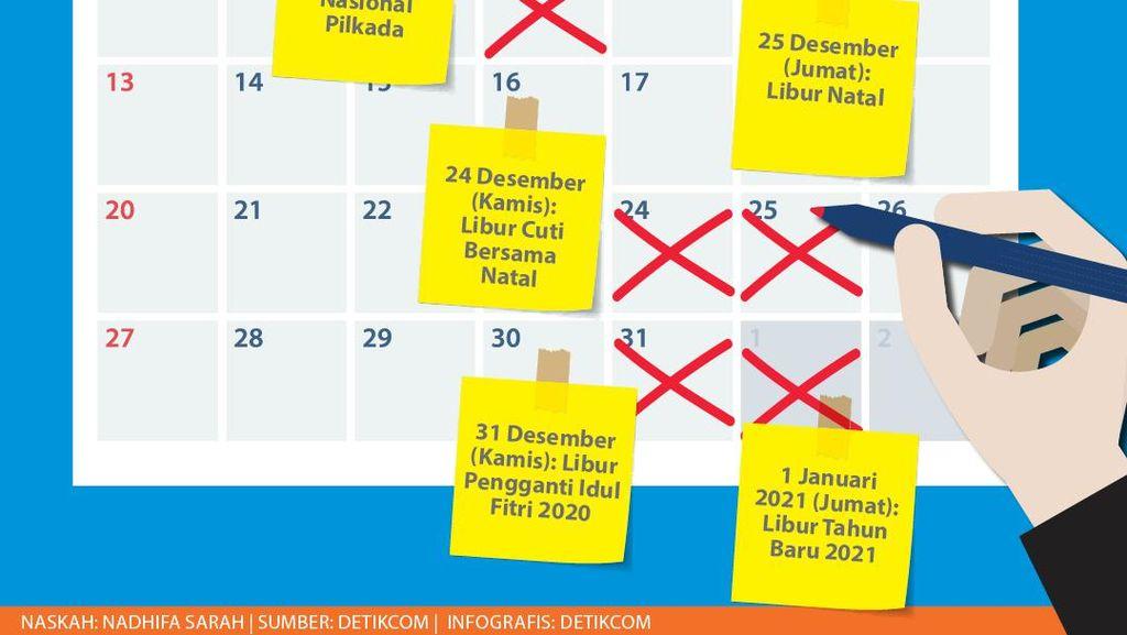 Dibaca! Aturan Jalan-jalan Libur Nataru & Cuti Bersama Desember 2020