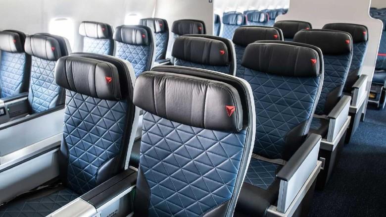 Kursi pesawat Delta Airlines